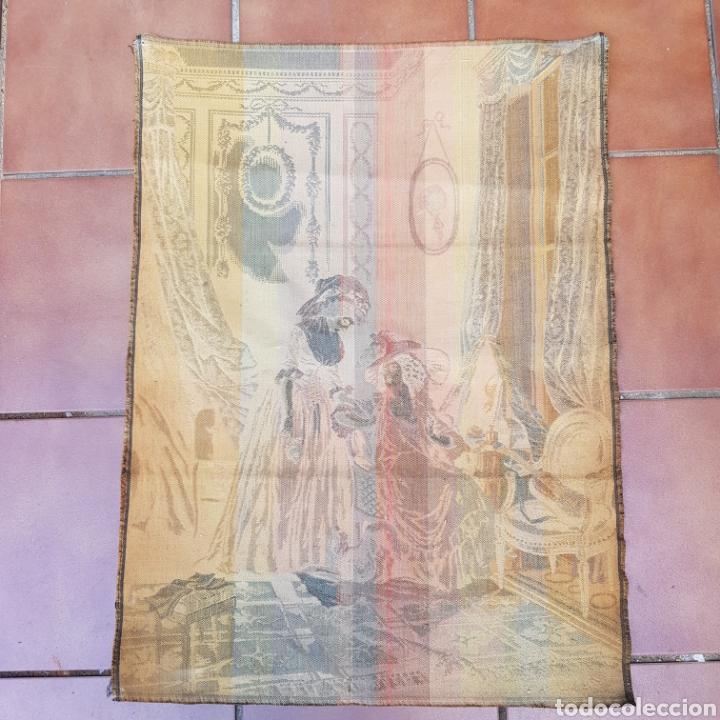 Antigüedades: TAPIZ NEOCLASICO FRANCES DEL PINTOR NICOLAS LAVREINCE - Foto 5 - 220930470