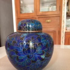Antiquités: TIBOR ESMALTE CLOISONNÉ.. Lote 192265642