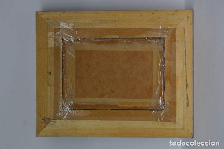 Antigüedades: Marco madera ebonizado - Foto 6 - 220933823