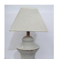 Antiquités: LAMPARA DE MESA DE CERAMICA. Lote 220946025