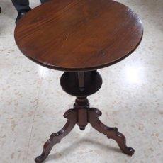 Antigüedades: VELADOR DE MADERA. Lote 220946801