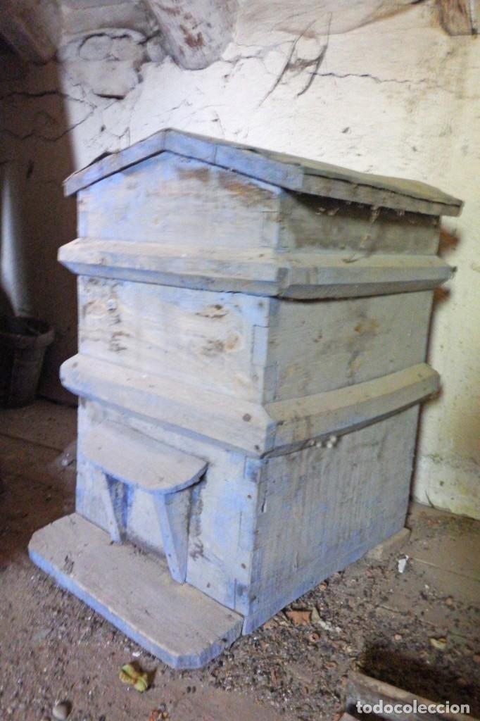 Antigüedades: bonita colmena de madera - Foto 2 - 220952970