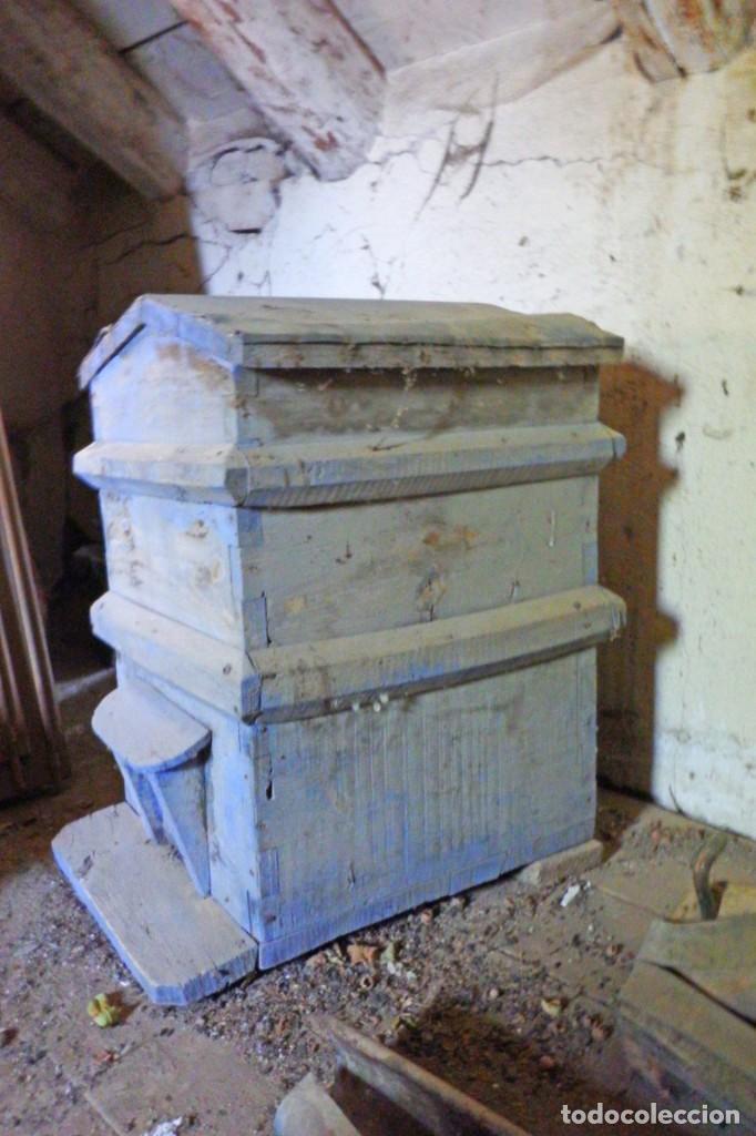 Antigüedades: bonita colmena de madera - Foto 3 - 220952970