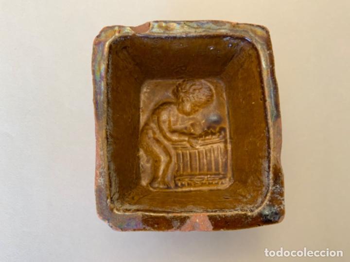 MOLDE MEMBRILLO CERÁMICA (S.XIX) (Antigüedades - Porcelanas y Cerámicas - Catalana)