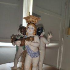 Antigüedades: ÁNGELES PORCELANA SUREDA, NUMERADO, DE COLECCION.. Lote 220959483