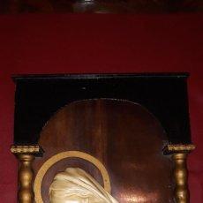Antigüedades: BENDITERA DE LA VIRGÉN MARÍA. Lote 221001697