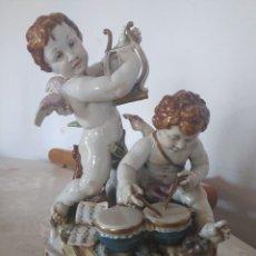 Antigüedades: ÁNGELES MUSICALES DE ALGORA. Lote 221114428