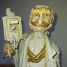 Antigüedades: ANTIGUA FIGURA CERÁMICA. Lote 221119377