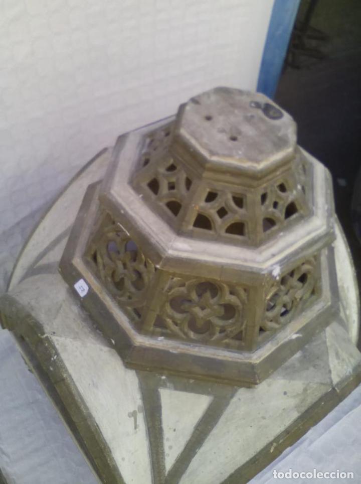 Antigüedades: Capilla u Hornacina de madera policromada - Foto 2 - 221130272