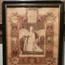 Antigüedades: BENDICIÓN APOSTÓLICA E INDULGENCIA PLENARIA DE 1897. Lote 221137113
