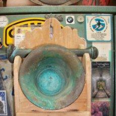 Antigüedades: ANTIGUO ALMIREZ/MORTERO CON MUEBLE. Lote 221161527