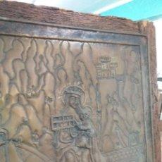 Antigüedades: VIRGEN DE SIERRA EN METAL. Lote 221170028