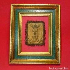 Antigüedades: ANAGRAMA DE LA VIRGEN MARIA, SIGLO XVIII. Lote 221236826