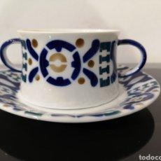 Antiquités: SARGADELOS TAZA DESAYUNO BURELA.. Lote 221246091
