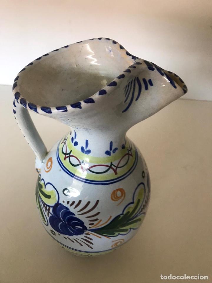Antigüedades: Jarrón cerámica de Talavera - Foto 2 - 221250105