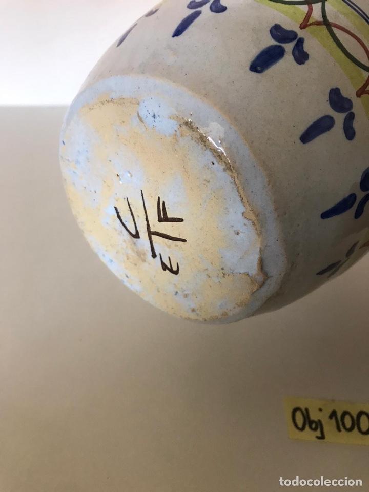 Antigüedades: Jarrón cerámica de Talavera - Foto 3 - 221250105