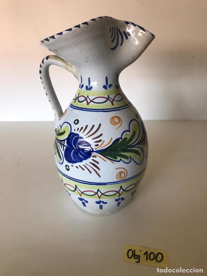 JARRÓN CERÁMICA DE TALAVERA (Antigüedades - Porcelanas y Cerámicas - Talavera)