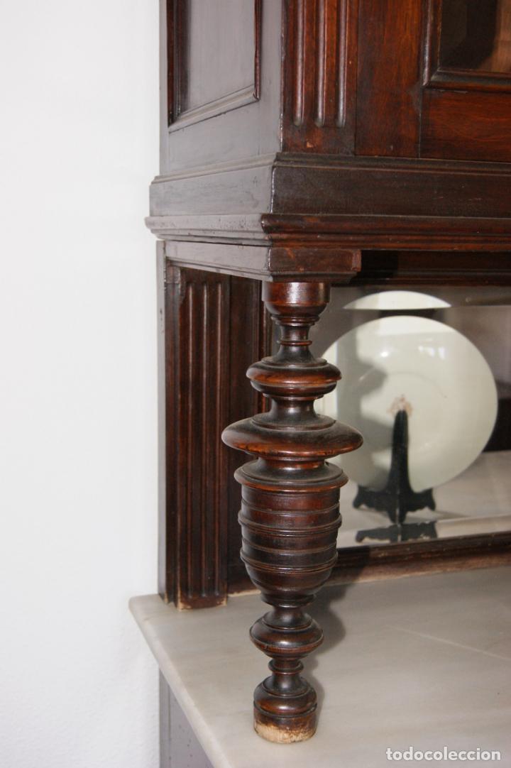Antigüedades: Antiguo aparador principios siglo XIX - Foto 6 - 221250696