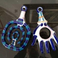 Antiquités: SARGADELOS FURAMAN Y TRAMPALLAN. GRANDES 19 CM.. Lote 221253766