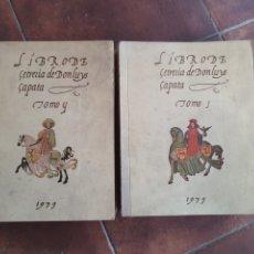 Antigüedades: LUIS ZAPATA. LIBRO DE CETRERÍA FACSÍMIL. BADAJOZ 1979 .. Lote 221258645