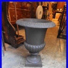 Antigüedades: BONITA COPA DE HIERRO MARRON ALTURA 40 CM. Lote 221287801