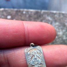 Antigüedades: VIRGEN DE LA CABEZA - ANDÚJAR, JAÉN - ANTIGUA MEDALLA - EN ALUMINIO. Lote 221303058