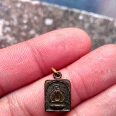 Antigüedades: VIRGEN DE LA CABEZA - SIERRA MORENA, ANDÚJAR, JAÉN - ANTIGUA MEDALLA - EN BRONCE. Lote 221304565