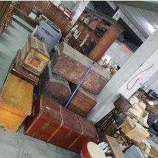 Antigüedades: ANTIGUO TABURETE DE BARRA AÑOS 50..CABARET..WISKERIA..PIN UP...METAL , FIELTRO Y SKAY. Lote 221306548