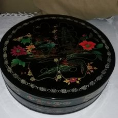 Antigüedades: PRECIOSA CAJA LACADA NUEVA SIN USO DE MACAU.. Lote 221312467