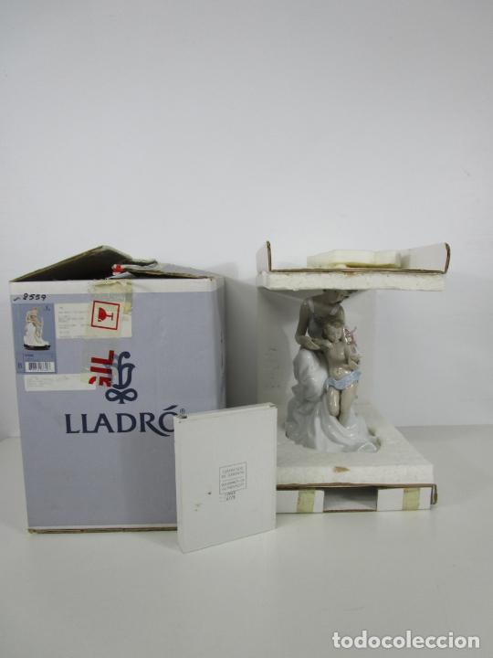 Antigüedades: Porcelana Lladró - La Infancia - Edición Limitada y Numerada - con Certificado y Caja - Foto 7 - 221344877