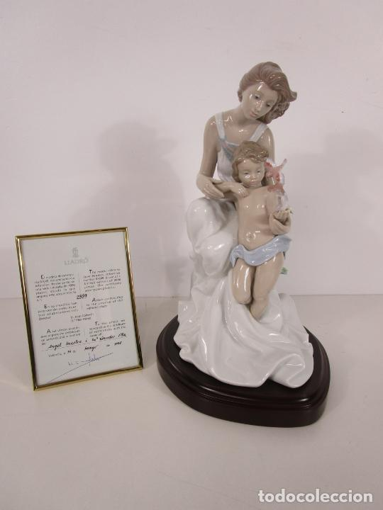 Antigüedades: Porcelana Lladró - La Infancia - Edición Limitada y Numerada - con Certificado y Caja - Foto 11 - 221344877