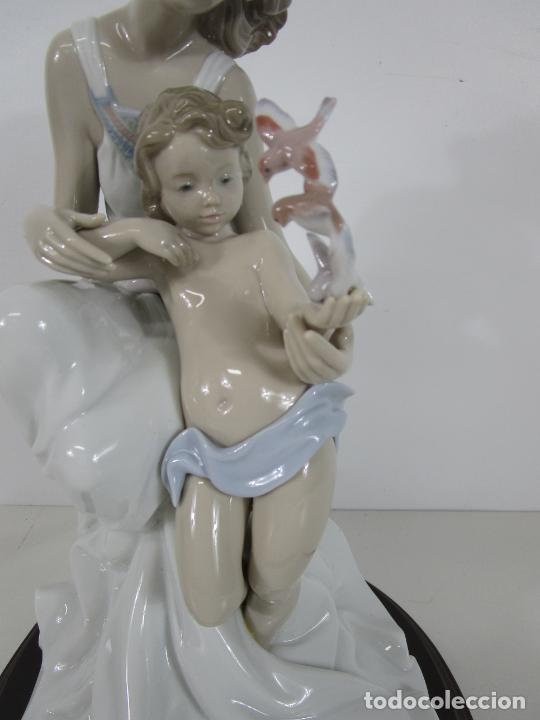 Antigüedades: Porcelana Lladró - La Infancia - Edición Limitada y Numerada - con Certificado y Caja - Foto 12 - 221344877