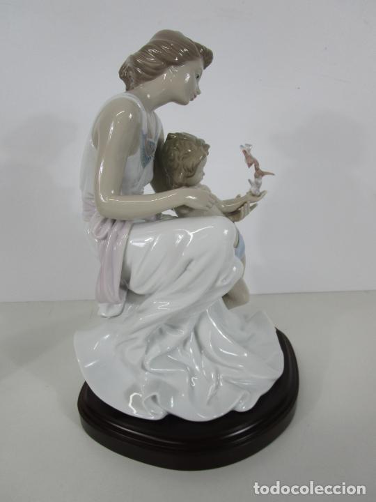 Antigüedades: Porcelana Lladró - La Infancia - Edición Limitada y Numerada - con Certificado y Caja - Foto 16 - 221344877