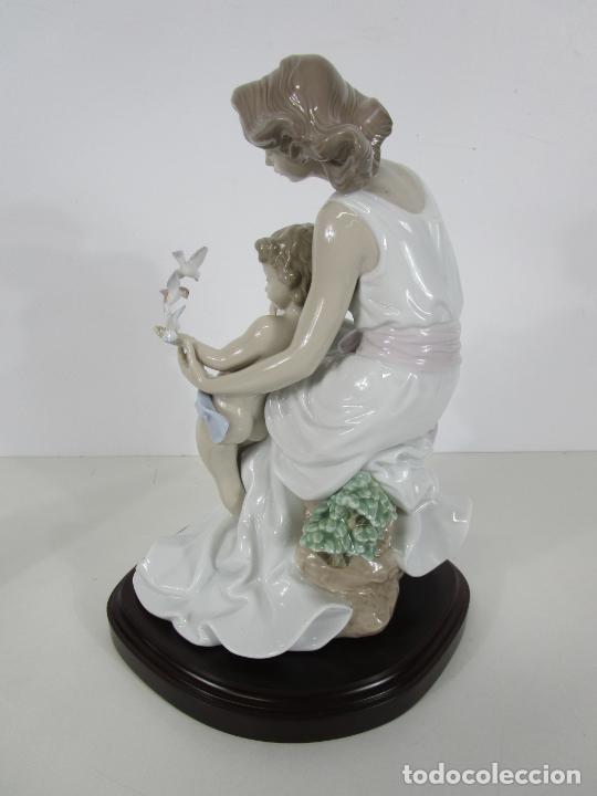 Antigüedades: Porcelana Lladró - La Infancia - Edición Limitada y Numerada - con Certificado y Caja - Foto 19 - 221344877