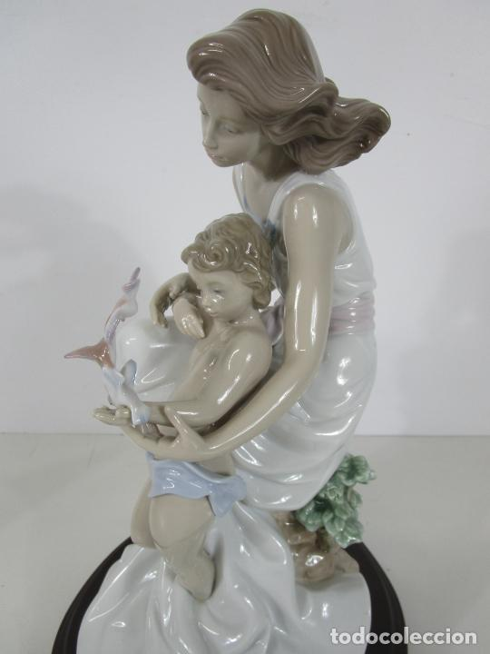 Antigüedades: Porcelana Lladró - La Infancia - Edición Limitada y Numerada - con Certificado y Caja - Foto 21 - 221344877
