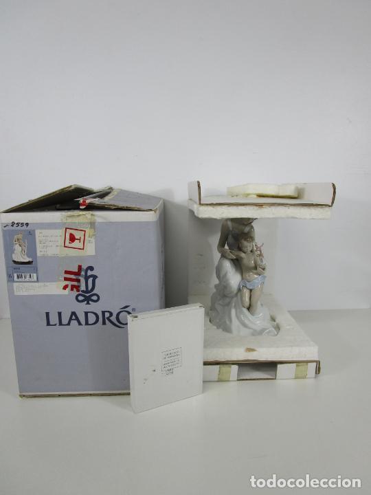 Antigüedades: Porcelana Lladró - La Infancia - Edición Limitada y Numerada - con Certificado y Caja - Foto 27 - 221344877