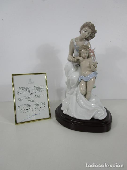 Antigüedades: Porcelana Lladró - La Infancia - Edición Limitada y Numerada - con Certificado y Caja - Foto 29 - 221344877