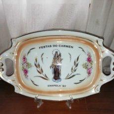 Antigüedades: BANDEJA DE PORCELANA. Lote 221370053