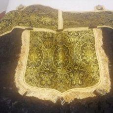 Antigüedades: CAPA PLUVIAL NEGRA. Lote 221370938