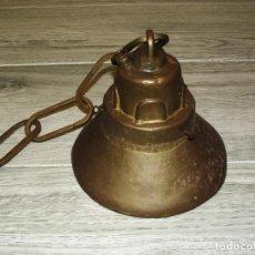 Antigüedades: CAMPANA DE HIERRO FUNDIDO - 3 KG.. Lote 221434421
