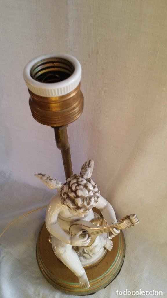 Antigüedades: LAMPARA DE PORCELANA DE LALGORA - Foto 5 - 221434522