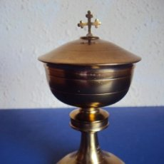 Antiguidades: (ANT-190514)BONITO CALIZ DE LATON. Lote 255312185