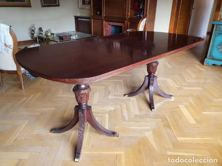 Antigüedades: Preciosa Mesa de comedor estilo Regency Inglés - Foto 3 - 221449513