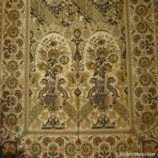 Antigüedades: CORTINAS SIGLO XIX CON HILOS DE ORO. Lote 221454125