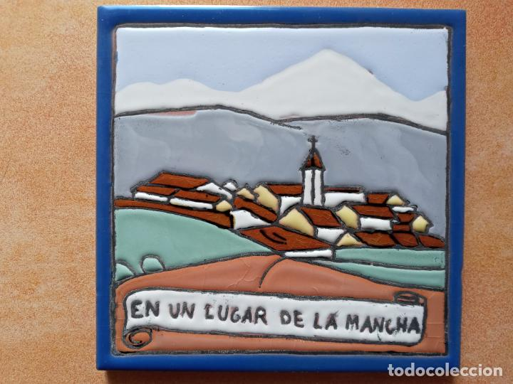 Antigüedades: Azulejos serie el Quijote En un lugar de la Mancha- Mensaque Rogriguez- Triana Sevilla - Foto 2 - 221455311