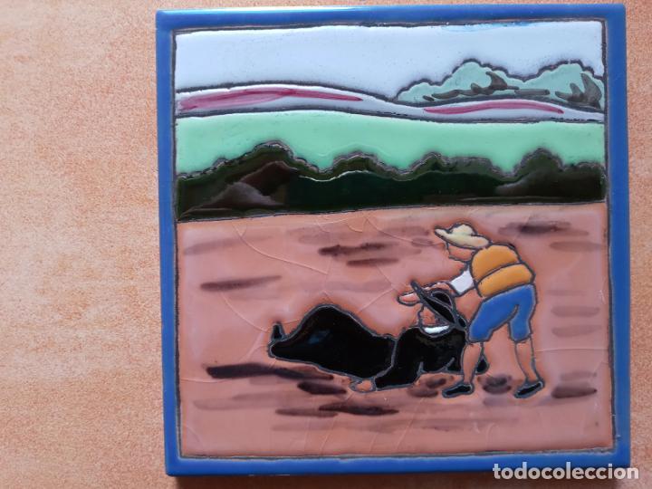 Antigüedades: Azulejos serie el Quijote En un lugar de la Mancha- Mensaque Rogriguez- Triana Sevilla - Foto 6 - 221455311