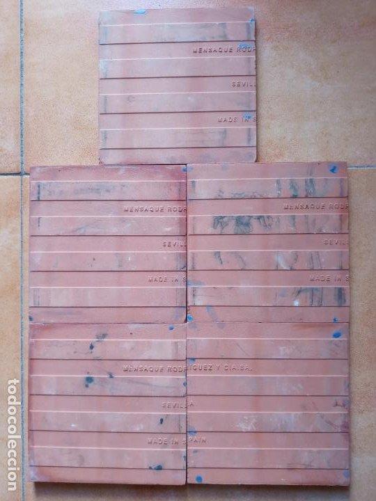 Antigüedades: Azulejos serie el Quijote En un lugar de la Mancha- Mensaque Rogriguez- Triana Sevilla - Foto 7 - 221455311