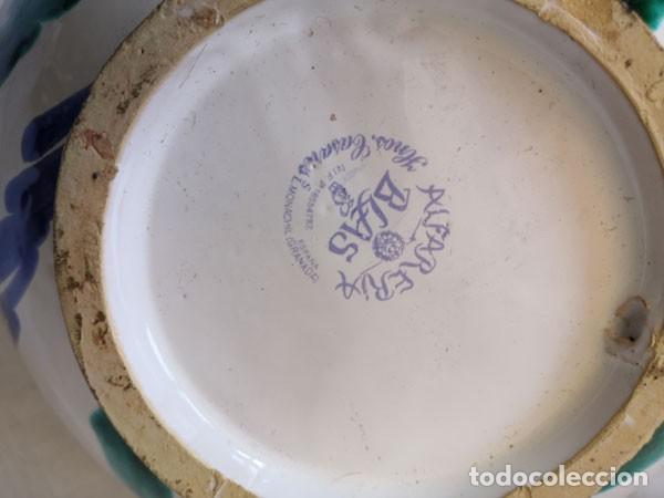 Antigüedades: PLATO, CUENCO, CENTRO DE MESA, DE CERÁMICA DE GRANADA ALFARERIA BLAS - Foto 5 - 221458972