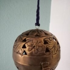 Antigüedades: INCENSARIO BRONCE ROMÁNICO. Lote 221468300