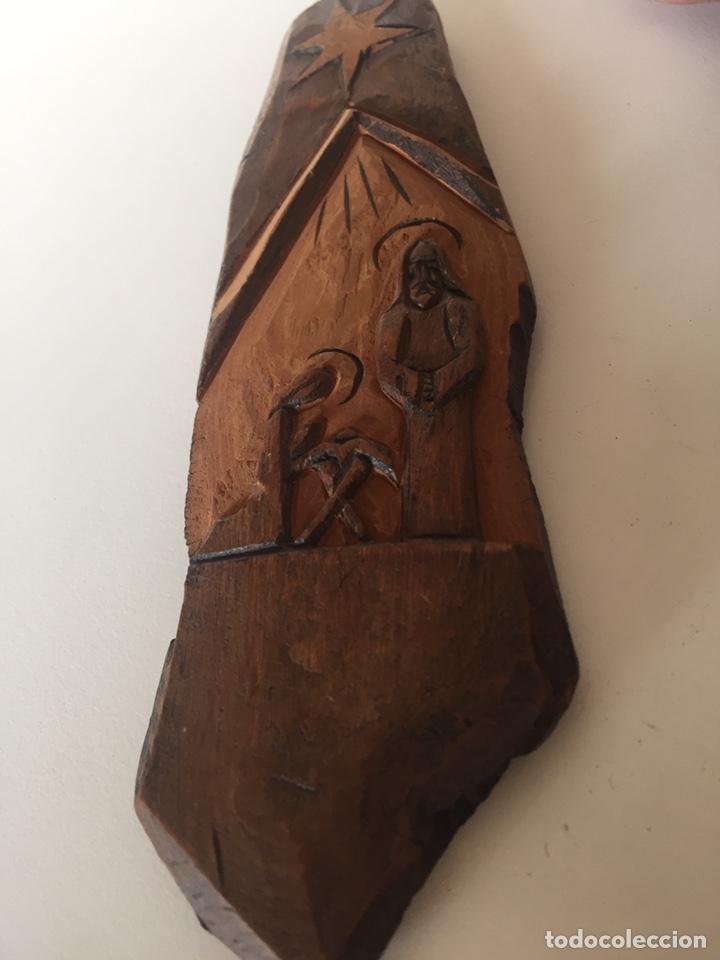 Antigüedades: Portal de Belén tallado - Foto 2 - 221513423